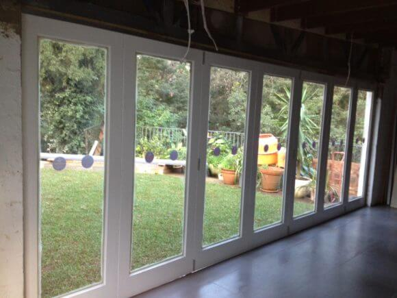 bifolds without a frame
